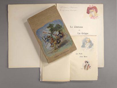 Albert ROBIDA et Emilie ROBIDA (sa fille) et divers illustrateurs