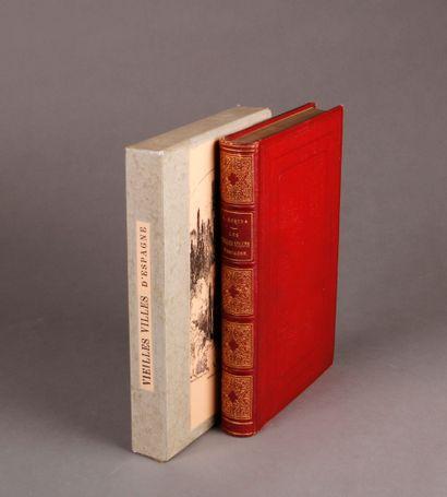 Albert ROBIDA Les Vielles Villes d'Espagne, notes et souvenirs. Illustrated with...