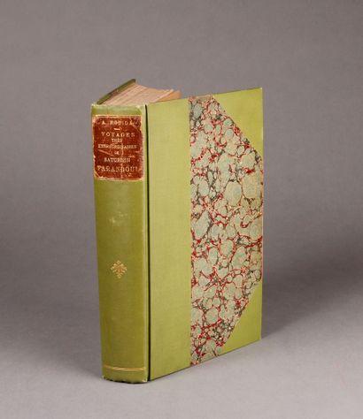 Albert ROBIDA Very extraordinary travels of Saturnin Farandoul, in the five parts...