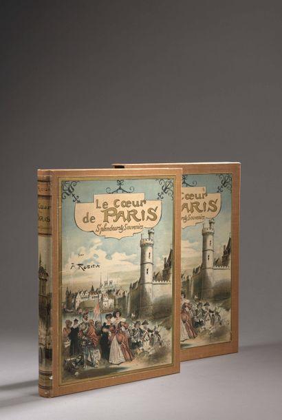 "Albert ROBIDA ""Paris from Century to Century"". The Heart of Paris, Splendors and..."