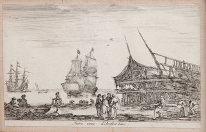 D'après STEFANO DELLA BELLA (1610-1664)