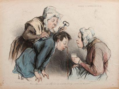 D'après Honoré DAUMIER (1808-1879)