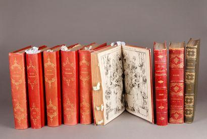 Albert ROBIDA et divers auteurs et illustrateurs