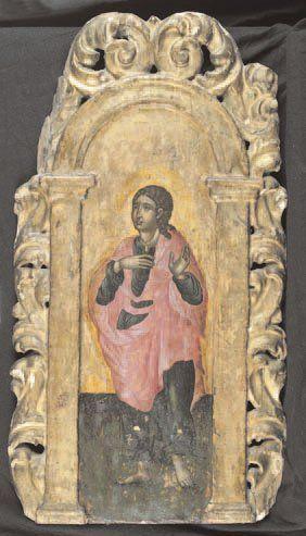 - Saint Jean l'évangéliste Sur un beau bois...
