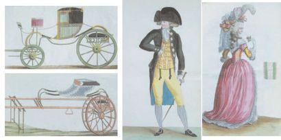 - Cabinet des Modes. 133 gravures dont 121...
