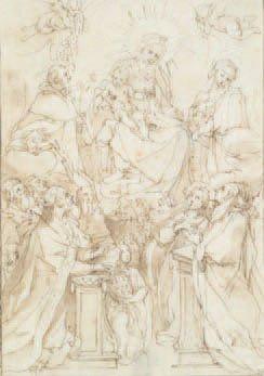 - Attribué à Ventura SALIMBENI (Sienne 1568-1613)