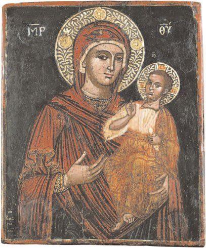- Vierge à l'Enfant Cette belle icône du...
