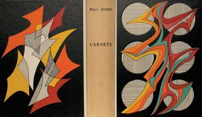 BONET (Paul). Carnets 1924-1971.