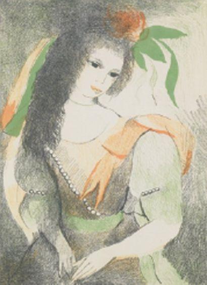 Marie LAURENCIN (d'après)