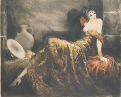 Louis ICART Gitane, 1939