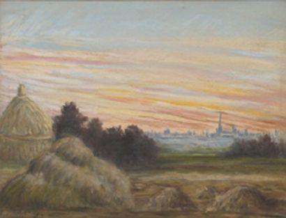 ÉCOLE FRANÇAISE, fin XIXe siècle