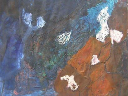 KOLOZS-VARY Tao Compositions Six peintures sur papier