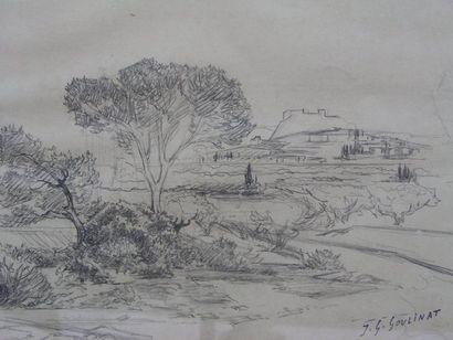 GOULINAT JEAN-GABRIEL (1883-1972)