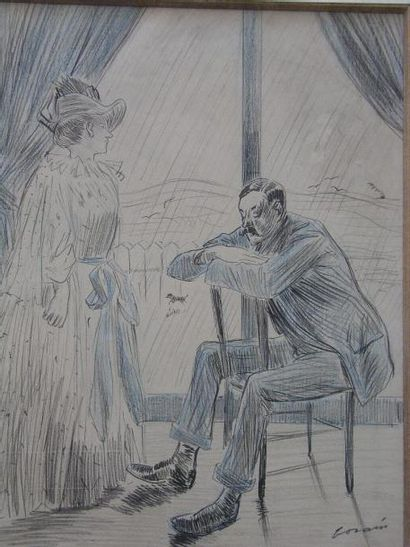 FORAIN JEAN-LOUIS (1852-1931)