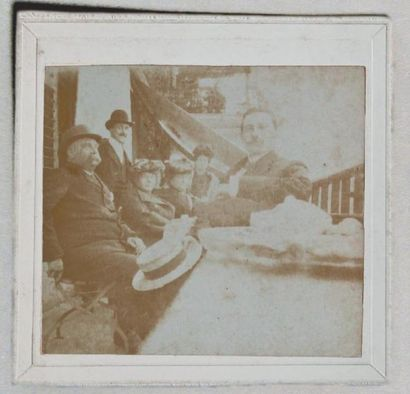 APOLLINAIRE (Guillaume) Rare photographie...