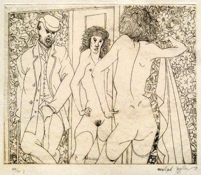 [Erotica] Fifteen etchings by Michael AYRTON...