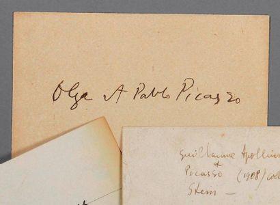 APOLLINAIRE (Guillaume). Carte autographe...