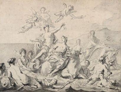 Pierre Jacques CAZES (Paris 1676 - 1754)