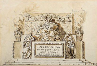 Augustin PAJOU (Paris 1766-1828)