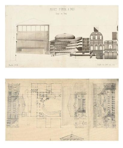 Attr. à Charles ROHAULT de FLEURY (1801 - 1875)