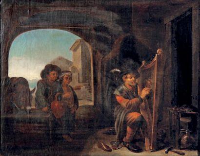 MAÎTRE DES PETITS MÉTIERS (actif à Rome au milieu du XVIIe siècle)