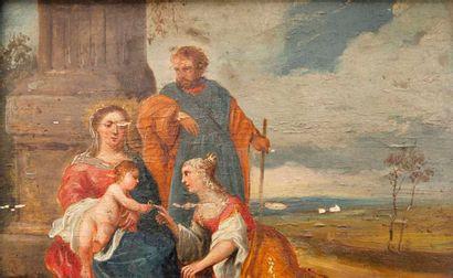 Entourage de David II TENIERS, dit le Jeune (1610 - 1690)
