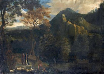 Attribué à Abraham GENOELS (1640-1723)