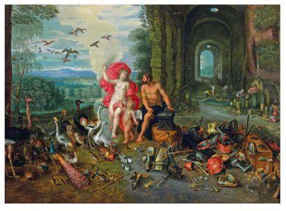 Jan BRUEGHEL (1601 - 1678) et son atelier et Hendrick Van BALEN (1623 - 1661)