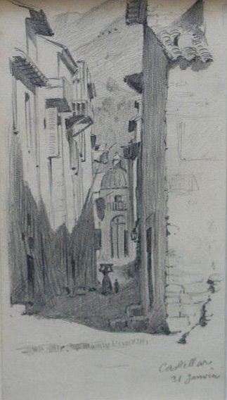 Attribué à Léon GAMBEY (1883-1914)
