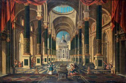 École ESPAGNOLE vers 1700, suiveur de Francesco
