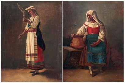 ÉCOLE ITALIENNE, XIXe siècle