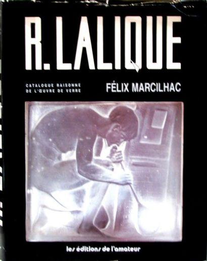 [Lalique] - MARCILHAC (Félix). René Lalique,...