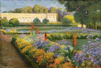 Gaston SIMOES DE FONSECA (1874-1929) Bagatelle Huile sur toile. Signée du cachet...