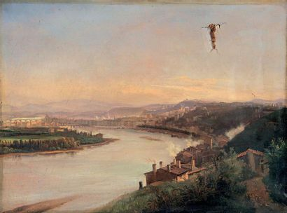 Attribué à Antoine-Jean DUCLAUX (Lyon 1783-1868)