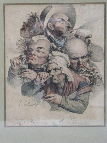 Louis Léopold BOILLY, d'après (1761-1845)