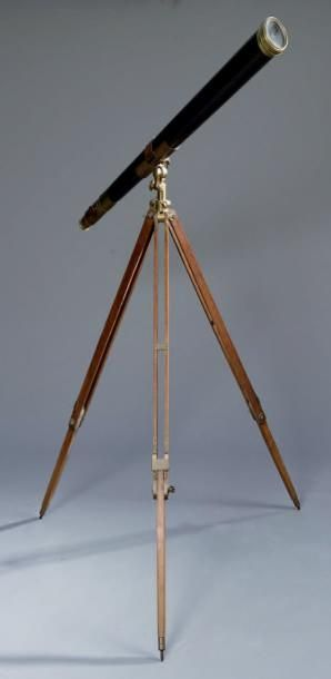 LUNETTE ASTRONOMIQUE, le tube tronconique...
