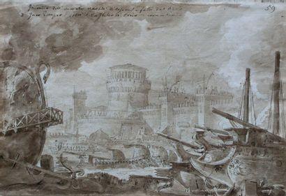 ECOLE ITALIENNE, fin du XVIIIe-début du...