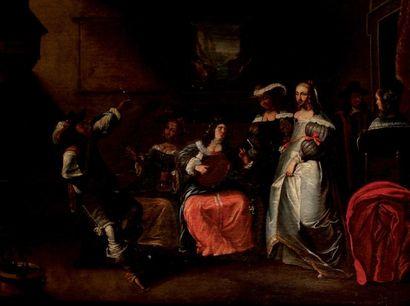 LAMEN Jaspar van der (Ecole de) (1606-1651)