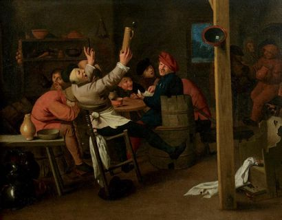 BROUWER Adriaen (Ecole de) (1606-1638)
