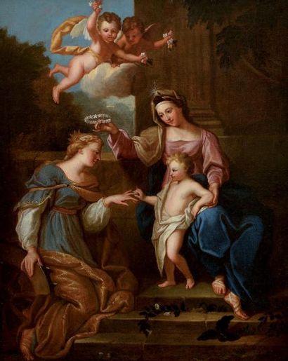 BON BOULLOGNE dit l'Aîné (Attribué à) (Paris, 1649-1717)