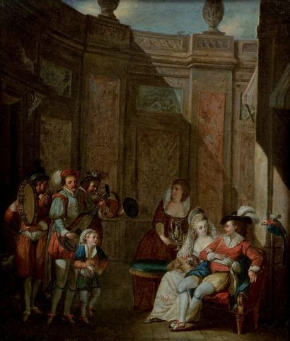 OLLIVIER Michel Barthelemy (attribué à) (Marseille, 1712-1784)