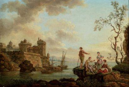 ECOLE FRANÇAISE, Fin du XVIIIe-début du XIXe siècle