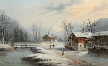 École française fin XIXe-début XXe siècle