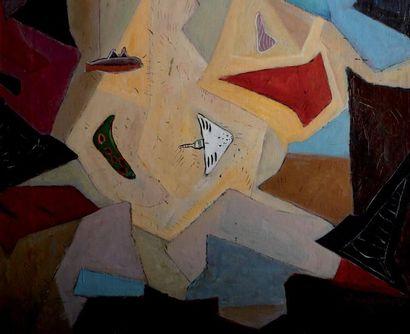 Anton ROOSKENS (1906-1976) Attribué à