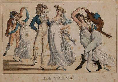CHEZ BASSET La valse - Le bon genre n°9 - Le bal de Vincennes - Les croyables au...