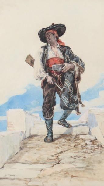 Georges AugusteVictor CLAIRIN (Paris 1843-Belle-Ile 1919)