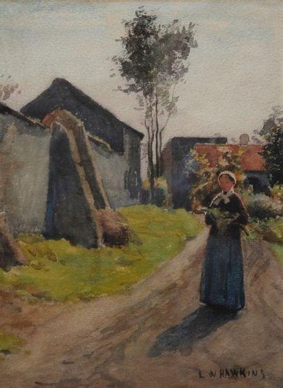 LouisWelden HAWKINS (Stuttgart 1849-1910; actif en France dès 1895)