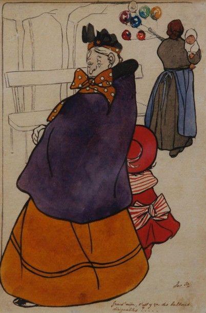 Jo LEO, Joris Léontine dit (Tournai 1870-Bruxelles 1962)