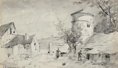 Henri Joseph HARPIGNIÈS (1819-1916)
