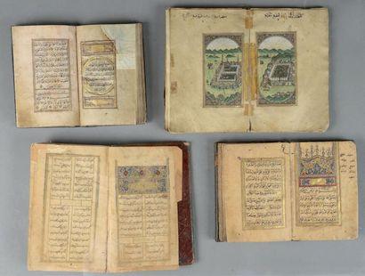 DIWAN DE HAFEZ, IRAN, XIXE SIECLE Manuscrit...